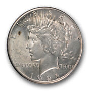 1928 1 Peace Dollar Mint State Uncirculated Key Date Us Coin R72