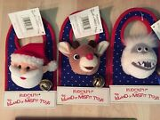 Door Knob Bell New And Tags Abominable Snowmanrudolph Santa Island Of Misfit Toys