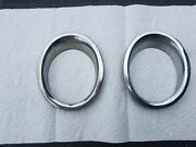 65/66 Mustang Exhaust Gt Trim Rings New Old Stock