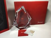 Vintage Baccarat Crystal Large Menhir New In Gift Box