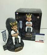 Clayton Kershaw Signed Dodgers G.o.t. Game Of Thrones Baseball Bobblehead Psa