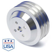 Ford Fe Water Pump Pulley 390 427 428 3 Groove High Flow Ac 292-y Ffe