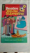Beatles Centerfold Comic For 1968 Yellow Submarine Gold Key W / Poster Included