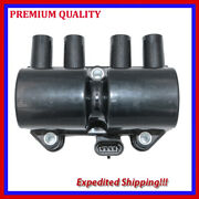 1pc Ignition Coil Jsu327 For Chevrolet Chevy Pickup 1.6l L4 2001 2002 2003