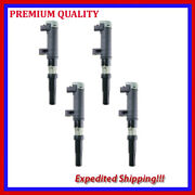 4pc Ignition Coil Jns653 For Nissan Platina 1.6l L4 2002 2003 2004 2005 2006