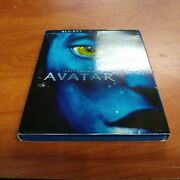 Avatar Blu-ray + Dvd, 2010, 2-disc Set James Cameron's With Slipcover