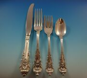 Sir Christopher By Wallace Sterling Silver Flatware Set For 6 Service 29 Pieces