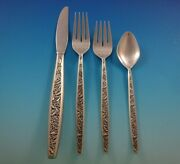 Valencia By International Sterling Silver Flatware Service For 8 Set 36 Pieces