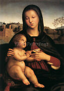 Raphael Madonna And Child C1503 Artist Painting Reproduction Handmade Oil Canvas