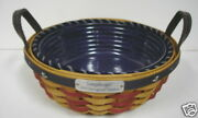 Longaberger 2005 Inaugural Basket Liner And Protector Set Brand New In Package