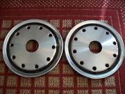 1989 - 1991 Chevy 3500 And Suburban 4x4 Two 16 Oem Caps With Holes