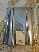 Clam Shell Vent 10 X 7-3/4 Chrome Plated Bronze