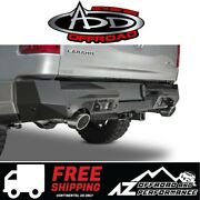 Add Stealth Fighter Rear Bumper 6 Backup Sensor Cutouts For And03919-and03921 Ram 1500