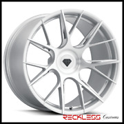 Blaque Diamond 22 Bd-f18 Silver Concave Wheel Rims Fits Cadillac Cts Coupe