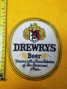 Vintage Rare Large Drewrys Beer Patch 7 X 6