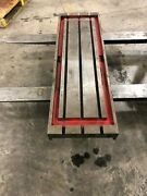43x11.5 Steel Welding T-slotted Table Cast Iron Layout Plate 3 T-slot Weld