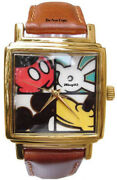 New Disney Mickey Mouse Body Parts Watch Collectible
