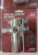 Ace 4516290 Three Way Diverter And Shower Mount New Chrome