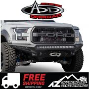 Add Stealth Fighter Front Winch Bumper For 2017-2020 Ford F150 Raptor