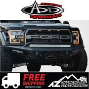 Add Honeybadger Front Winch Bumper For 2017-2020 Ford F150 Raptor