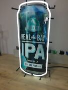 Golden Road Brewing Heal The Bay Ipa Beer Neonpro Sign Authentic Made In L.a