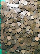 500 Mixed Date Indian Head Cents - Us Coin Lot Collection - 10 Rolls