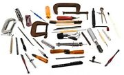 Lot 37 Machinist Clamp Wrench Tap Guide Screw Hex Driver Divider Cutter Tools