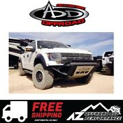 Add Stealth Front Bumper No Stealth Panels Blk For 2010-2014 Ford F150 Raptor