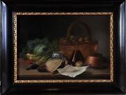 Antique Table Still Life 19th Century Great Quality