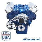 Big Block Ford Serpentine System Electric Water Pump Bbf 429 460 All Inclusive