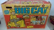 1970 Kenner Big Cat Ride On Electric Construction Power Loader Mib Never Used