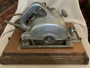 Vintage Craftsman 6-1/2 Electric Saw 207.25530 Box Tools Blades And Instructions