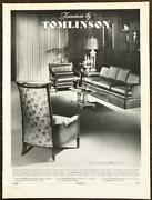 1963 Furniture By Tomlinson High Point Nc Print Ad The Coulisse Collection