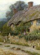 British Allingham Helen A Mother And Child Saisie A Cottage Artiste Repro M