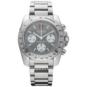 Tudor 20300 Sport Chronograph Grey Dial Stainless Steel Automatic Menand039s Watch