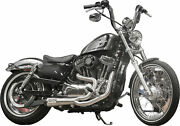 Tbr 2014-2017 Harley-davidson Xl883n Iron 883 Comp S 2in1 Exhaust Sportster Brus