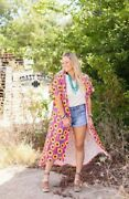 Crazy Train Sunflower Duster - One Size Fits S To 2x