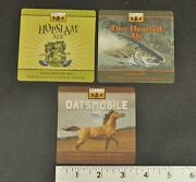 Bells Brewery Beer Coasters Lot Of 3 Two Hearted Ale Hopslam Ale Two Hearted Ale