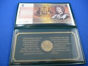 Australia The Last One Dollar Note And The First Dollar Coin - John West Cover -