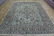 Handmade Persian Kashan Carpet With Great Design And Superb Colours 340 X 248 Cm