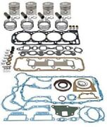 Major Engine Overhaul Kit For Iveco-nef N45 Turbo 8 Valve Head Paper/rubber Opg
