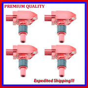 4pc High Energy Ignition Coil Jmd2875r For Mazda Rx-8 1.3l R2 2010 2011