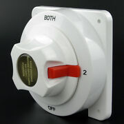 Seaflo Dual Marine Battery Switch Selector Boat Replaces Guest Perko 4 Position