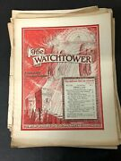 Vtg Watchtower Jehovah's Witnesses Magazine Newspaper Lot Of 21 - 1949