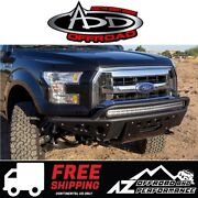 Add Stealth R Winch Front Bumper Black For 2015-2017 Ford F150 Truck