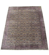 9x12 Antique Turkish Sivas Area Rug 1930and039s Hand-knotted Wool Carpet 9 X 11.8