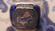 2018 Los Angeles Dodgers 1988 Commemorative Coors Light World Series Ring