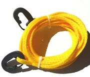 Suzuki Ltz250 Ltz400 Ltr450 Lt230 Lt80 Tow Rope With Easy To Use Hook Clips