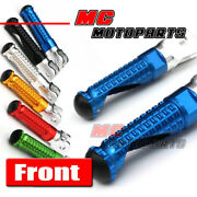 Cnc Mpro Front Foot Pegs Footrest For Ducati Hypermotard 748 Streetfighter 1299
