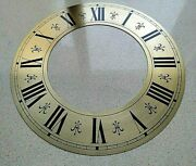 Vintage Clock Dial Face Metal Patterns Roman Numerals Wall Grandfather Clocks